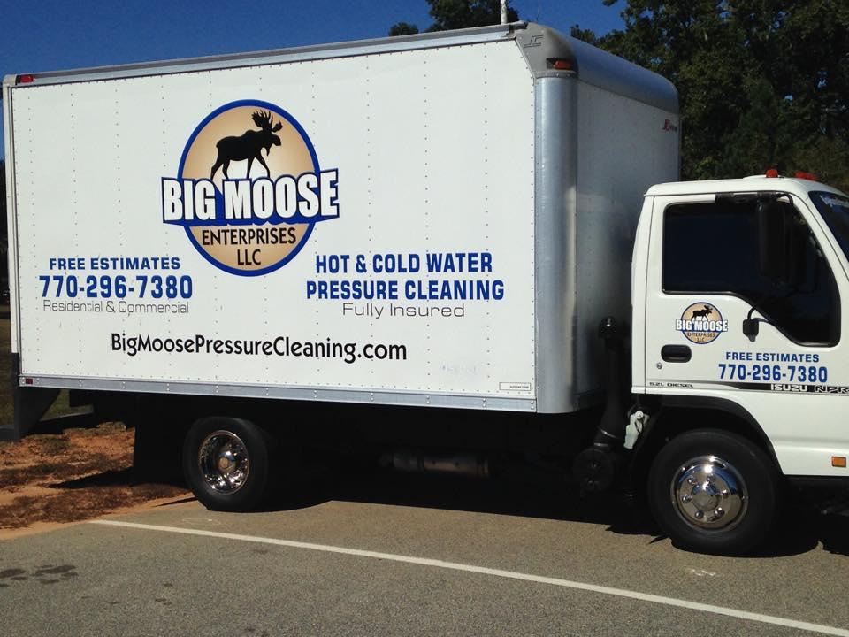 Big Moose Pressure Cleaning – McDonough, GA