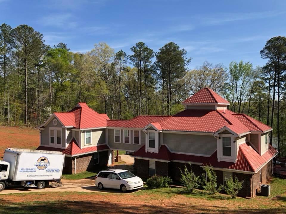 Big Moose Pressure Cleaning – Jenkinsburg, GA
